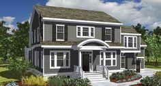 historic colonial decor 1900 | Show Homes Virginia Beach | 2013 St. Jude Dream House | Custom Home ...