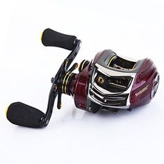 SHISHAMO Promote Baitcasting Reel 17+1 Ball Bearings Left Hand Right Hand Bait Casting Fishing Reels Coil Gear Ratio 6.3:1 Baitcasting Reel Outdoor Store [gallery] Description & Characteristics: * Bait Casting Fishing Reel * Maintain: Right Hand or Left Hand, Please make a choice when order * Weight: 211g/7.4oz * Gear Ratio: 6.3:1 * Max Power Drag: 5.5KG * Line Capacity (mm/M): 0.285/115; 0.3/one hundred; 0.33/90 * 17 Ball Bearings + 1 One Means Grasp Bearing * CNC (Computer ... http://
