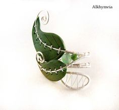 Tie - wire work and polymer clay - Alkhymeia, polymer clay and wire work creations