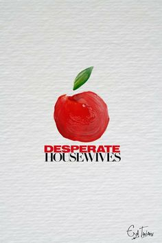 Desperate Housewives (2004-2012) - Minimal TV Poster by Eya Tarhouni