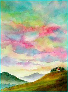 Reiko Hervin Watercolor