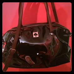 Sale! Kate Spade  Large Patent Leather Bag