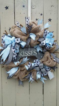 Dog kisses mesh wreath                                                                                                                                                      More