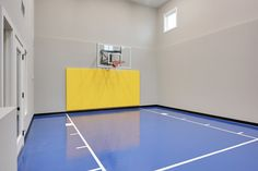 Standard Blue Sport Court Flooring painted option  5660