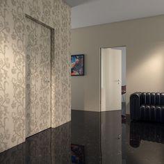 Εσωτερική πόρτα Kinesis 3 Catalog, Blue And White, Curtains, Home Decor, Blinds, Decoration Home, Room Decor, Brochures, Draping