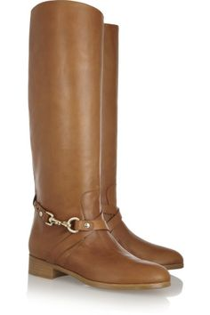 Mulberry | Dorset leather riding boots | NET-A-PORTER.COM