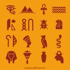I - Icons - Egyptian icons