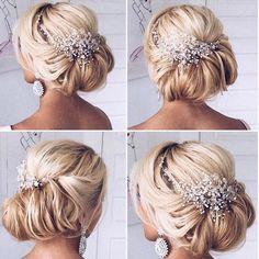 Wedding Hairstyle Inspiration   Deer Pearl Flowers