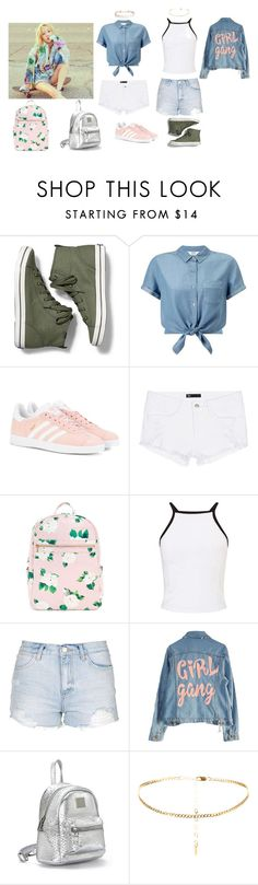 """Taeyeon Why Outfit"" by michelycolon on Polyvore featuring moda, Keds, Miss Selfridge, adidas Originals, 3x1, Topshop, High Heels Suicide y Humble Chic"