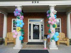 Jgh 1st Birthday Parties, Birthday Party Decorations, Girl Birthday, Wedding Decorations, Unicorn Balloon, Unicorn Party, School Decorations, Balloon Decorations, Balloon Pillars