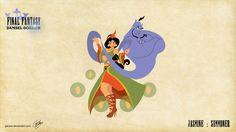 迪士尼與《FINAL FANTASY》的新作?超強國外畫師驚人作品賞 :: 新聞中心 :: 遊戲基地gamebase
