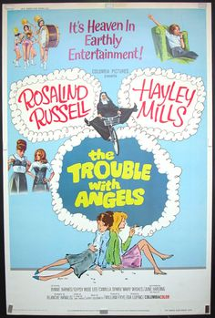 the trouble with angles | Dortoir des anges (The Trouble with Angels, Ida Lupino, 1966)