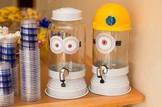 ideias simples para festa de aniversario dos minions - Pesquisa Google