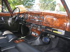 Jaguar Mk. X interior by Chris Barrus, via Flickr