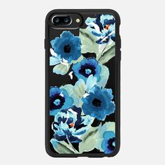 painted graphic floral - Classic Grip Case