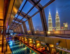 SkyBar at Traders Hotel, Kuala Lumpur, Malaysia