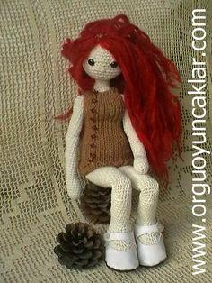 Amigurumi Fall Doll Pattern. $8.00, via Etsy.