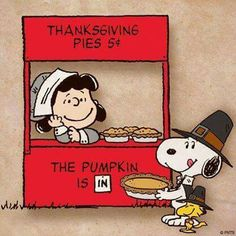 Thanksgiving Pies - Pilgrim cartoon character Lucy Van Pelt, Snoopy and Woodstock with a pumpkin pie for vegan Thanksgiving Peanuts Thanksgiving, Charlie Brown Thanksgiving, Thanksgiving Pies, Charlie Brown Christmas, Thanksgiving Greetings, Thanksgiving Quotes, Thanksgiving Graphics, Thanksgiving Cartoon, Thanksgiving Pictures