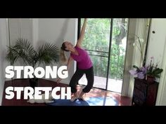 "Thought this was a great way to end my day. Would be awesome starting it too. Especially on an ""off"" day. ▶ Yoga, Yoga Poses, Pilates: Strong Stretch (total body stretch, core, abs, flexibility) - YouTube"