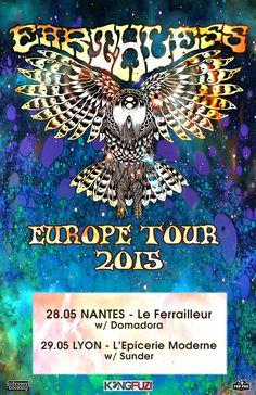 EARTHLESS en tournée !! INFOS : http://bit.ly/1FAHHbo