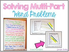 Solving Multi-Part W