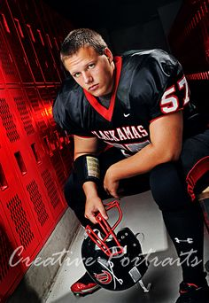 senior football picture ideas - Google Search