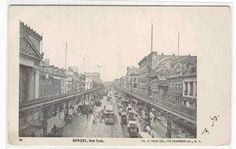 Bowery Street Scene New York City 1900c by ThePostcardDepot, $5.00