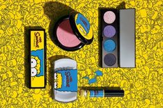 #MacCosmetics, collezione #makeup limited edition dedicata a Marge dei #Simpson  #MAC  @maccosmetics