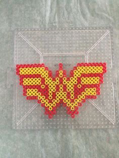wonder woman hama beads - Sök på Google