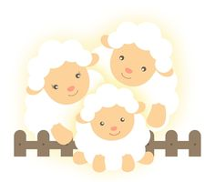 Infinita Arte for Baby Eid Crafts, Crafts To Do, Crafts For Kids, Baby Sheep, Cute Sheep, Anime Animal, Micro Creche, Lamb Nursery, Decoupage
