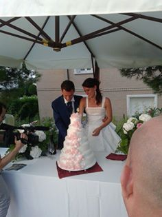 wedding cake moment