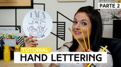 Hand Lettering - Parte 2 | Tutorial by Aline Albino