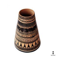 Re-experience history with Kiasmo | Discover our collection on http://www.kiasmo.it/product-category/design/vases/veia/ | Design by #vincenzodalba #uniquepieces #drawing on #terracotta #pen #tradition #classicism #collection #kiasmoart #magnagrecia #greek #grecia #ellenismo #vaso #arcaismo #atene #thenewyorker #athens #memories #kiasmo #italiandesign #veia #kiasmodesign #art #original #unique