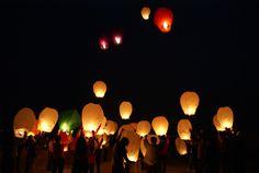 lanterne mongolfière