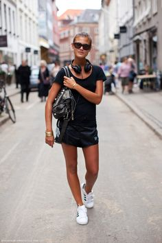 33 Best adidas superstar images | Street style, How to wear