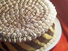 """Tort """"Senzatii tari"""" - Dulciuri fel de fel Homemade Cakes, Tiramisu, Mousse, Ethnic Recipes, Desserts, Pies, Rome, Tailgate Desserts, Deserts"""