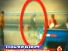 Chile:Estranha imagem de fantasma em acidente