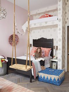 Little girl's room. Genevieve Gorder's NYC Apartment Renovation : Decorating : Home & Garden Television