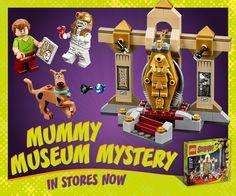 LEGO Scooby-Doo Mummy Museum Mystery http://bit.ly/LEGOScooby-Doo