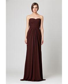 Classic natural waist Monique LHuillier now available at Le Salon Bridal Boutique.