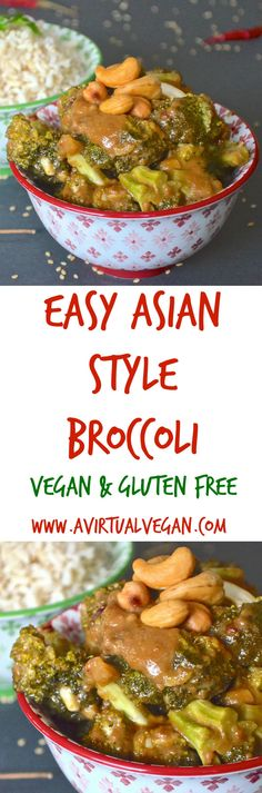 Easy Asian Broccoli Easy Asian Broccoli Olivia Brown livbrown vegan fOOd Tender broccoli smothered in a rich thick Asian style sauce Insanely simple nbsp hellip Broccoli easy Vegan Dinner Recipes, Vegan Dinners, Asian Recipes, Vegetarian Recipes, Cooking Recipes, Healthy Recipes, Vegan Recepies, Going Vegetarian, Going Vegan