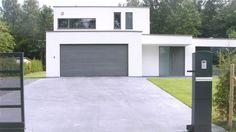 oprit in gepolierde beton
