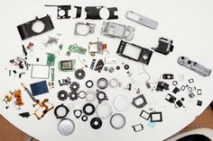 What the Fujifilm FinePix X100 Looks Like Completely Disassembled
