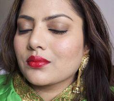 Lakme Absolute Illuminating Makeup Haul,,FOTD with Lakme Absolute Illuminating Lip Shimmer Ruby Glimmer