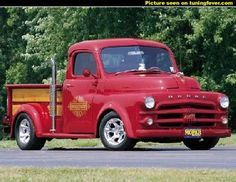 "1952 Dodge ""lil red express"""