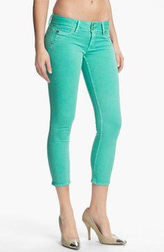 Hudson Jeans - Collin Crop Skinny Jeans Supernova #15Things #fashion #style #trending #coloredjeans #hudson