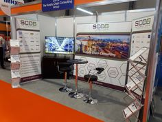 After set-up day, SCCG stand 20D12 was ready to welcome our expert consultants to have a chat with current, new and prospective clients.