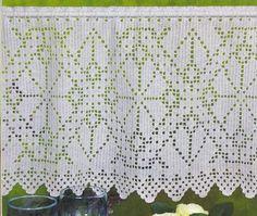 This is Filet but would look fantastic in multicolor Tapestry -  Cortinas - Ana Garcia - Álbumes web de Picasa