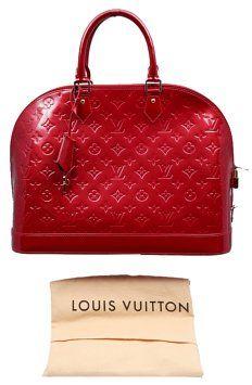 5c314a80d90 Louis Vuitton Alma   Vernice Monogram Red (Pomme D amour ) Patent Leather  Shoulder Bag 28% off retail