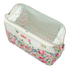Daisies and Roses Border Frame Wash bag   Washbags   CathKidston Pencil  Pouch, Wash Bags 53237648cd